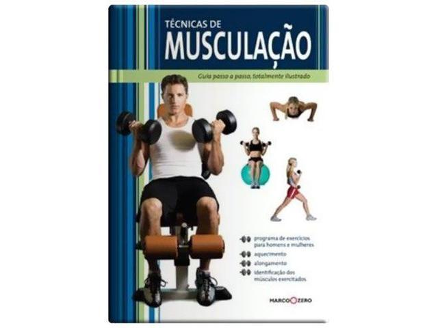 Imagem de Livro - Técnicas de musculação