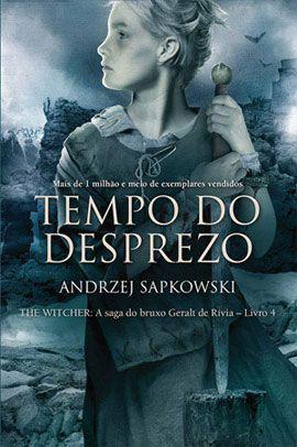 Imagem de Livro - Tempo do desprezo - The Witcher - A saga do bruxo Geralt de Rívia