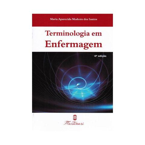 Imagem de Livro - Terminologia em Enfermagem - Santos