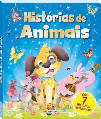 Imagem de Livro - Tesouro de histórias...histórias de animais