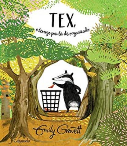 Imagem de Livro - Tex, o texugo pra lá de organizado