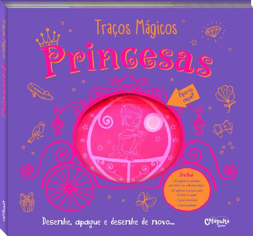 Imagem de Livro - Traços mágicos princesas