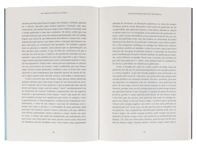 Imagem de Livro - Uma breve história do tempo