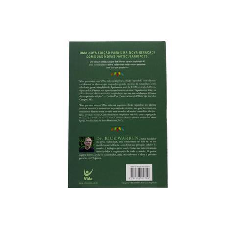 Imagem de Livro: Uma Vida Com Propósitos  Rick Warren