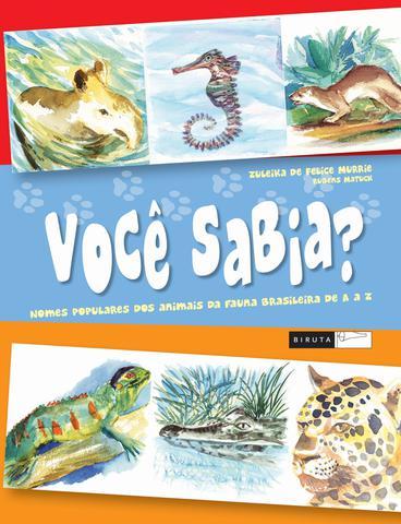 Imagem de Livro - Você sabia? Nomes populares dos animais da fauna brasileira de A a Z