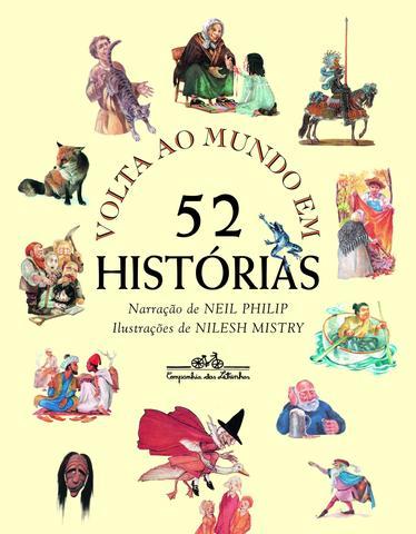 Imagem de Livro - Volta ao mundo em 52 histórias