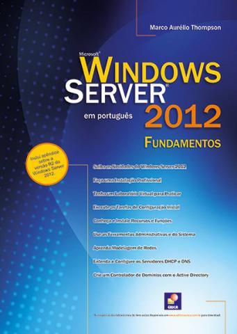 Imagem de Livro - Windows Server 2012