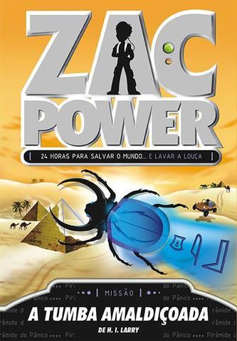 Imagem de Livro - Zac Power 06 - A Tumba Amaldiçoada