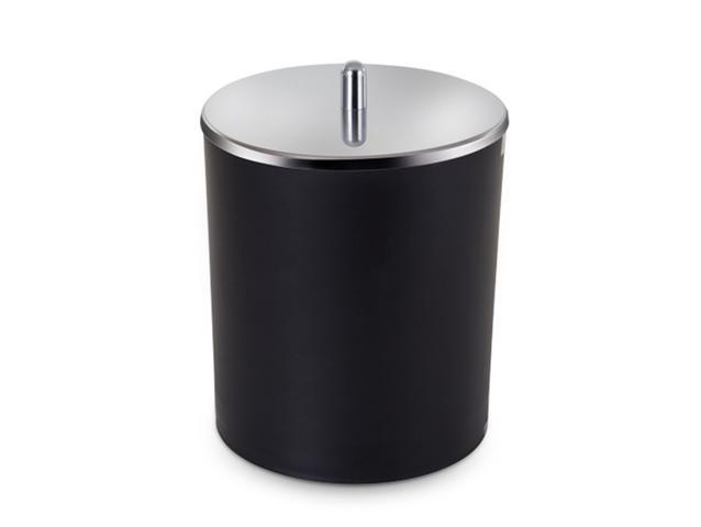 Imagem de Lixeira 5 litros com tampa inox (5079) preta - arthi