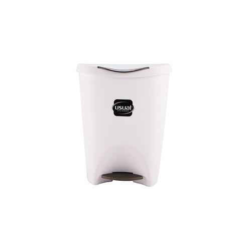Imagem de Lixeira 7,5 Litros C/ Pedal P/ Cozinha / Banheiro Usual
