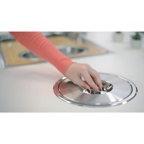 Imagem de Lixeira de Embutir Clean 5 Litros Tramontina 94518005