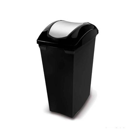 Imagem de Lixeira de polipropileno basculante Slim 40 litros Sanremo