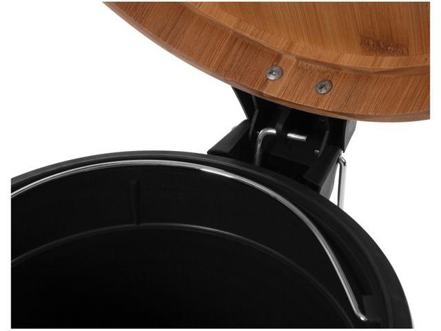 Imagem de Lixeira Inox com Pedal e Tampa 5L Brinox