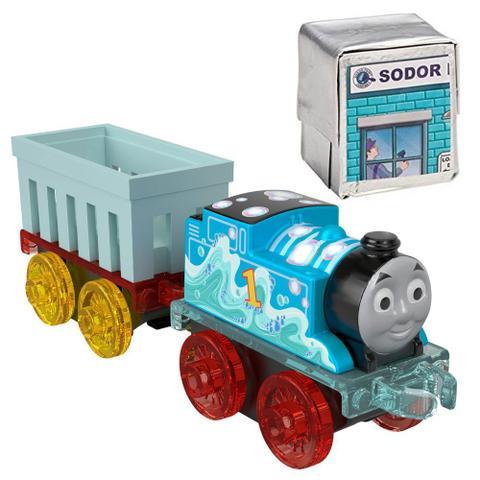 Imagem de Locomotiva Thomas  Seus Amigos - Thomas e Mini Figura Surpresa - Fisher-Price