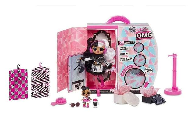 Imagem de Lol Surprise Omg Winter Disco  Dollie E Dollface  -25 surpresas -  Candide