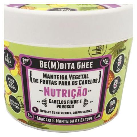 Imagem de Lola Cosmetics Be(m)dita Ghee Abacaxi e Manteiga de Bacuri - Máscara de Nutrição