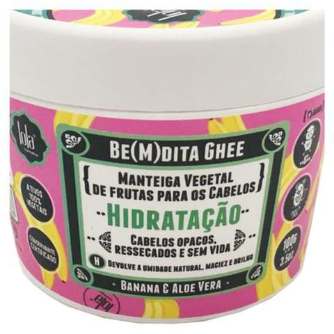 Imagem de Lola Cosmetics Be(m)dita Ghee Banana e Aloe Vera - Máscara de Hidratação