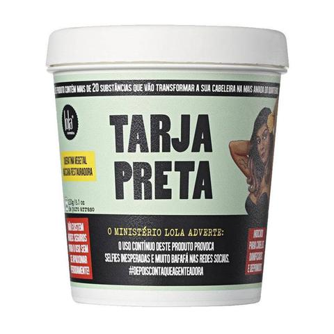 Imagem de Lola Tarja Preta - Queratina Vegetal Máscara Restauradora - 230g