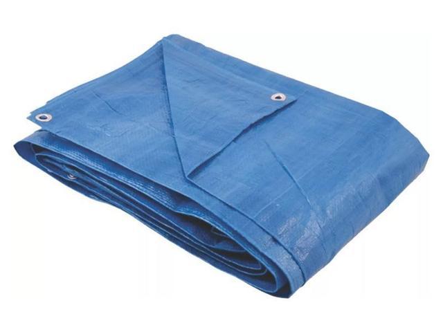 Imagem de Lona Azul Reforçada  4x4 metros 70 Grs 100 micras AJAX