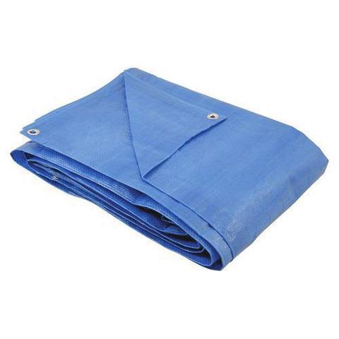 Imagem de Lona Azul Reforçada  5x5 metros 70 Grs 100 micras AJAX
