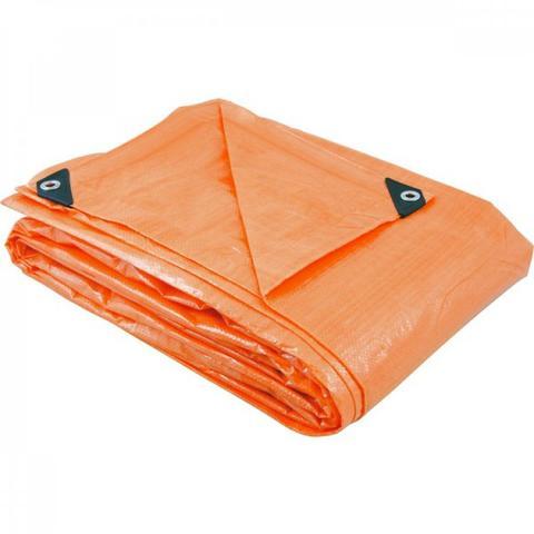 Imagem de Lona de polietileno laranja 7 m x 5 m Vonder Laranja
