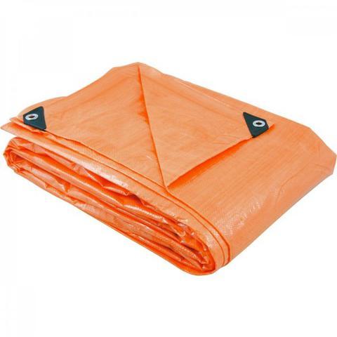 Imagem de Lona de polietileno laranja 8 m x 7 m Vonder Laranja