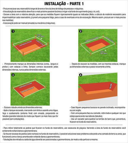 Imagem de Lona Painel Geomembrana PEAD 0,5mm-14,00 X 12,00 (168mts)