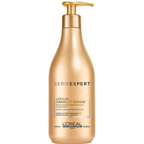 Imagem de LOréal Profissional Absolut Repair Cortex Lipidium Shampoo Reconstrutor Instantâneo 500ml