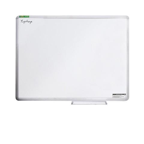 Imagem de Lousa Quadro Branco Moldura De Aluminio 100X80 Cm Apagdor 6 marcadores