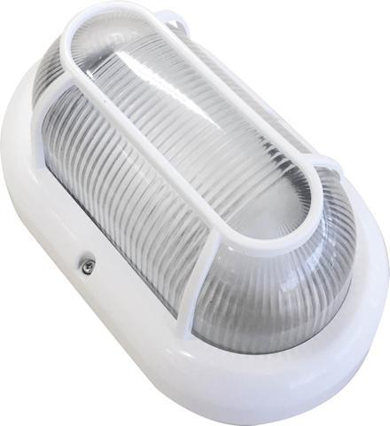 Imagem de Luminária Arandela Tartaruga Branca Bivolt Blumenau Iluminação Uso Externo Resistente a Água Soquete E27