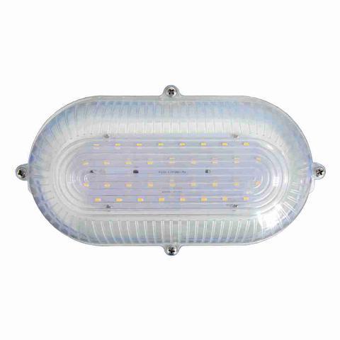 Imagem de Luminária Arandela Tartaruga Branca de LEDs SMD - DNI 6200