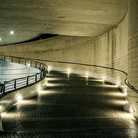 Imagem de Luminária Arandela Tartaruga Branca Parede Com Lâmpada