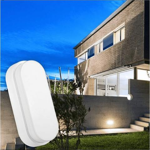 Imagem de Luminaria Arandela Tartaruga LED 15W Branco Oval IP67 Externa Branco Frio 6500K Bivolt