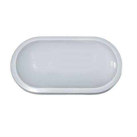 Imagem de Luminaria Arandela Tartaruga LED 15W Branco Oval IP67 Externa Branco Quente 3500K Bivolt