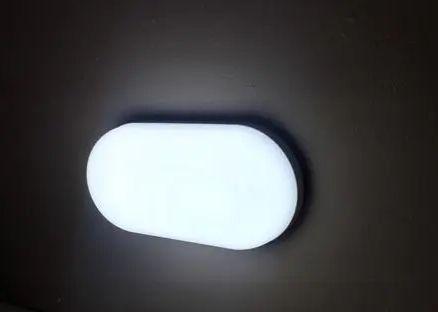 Imagem de Luminária balizador led de sobrepor tartaruga mini hall 8w, bivolt, branco frio - 6500k