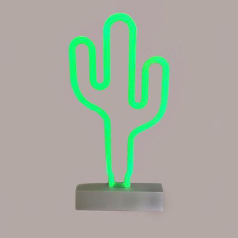 Imagem de Luminaria Cacto Em Neon Led