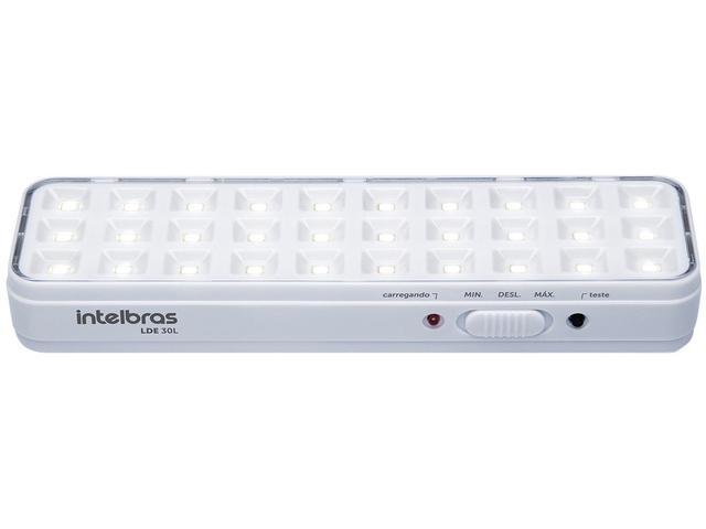 Imagem de Luminária de Emergência 30 LEDs Intelbras