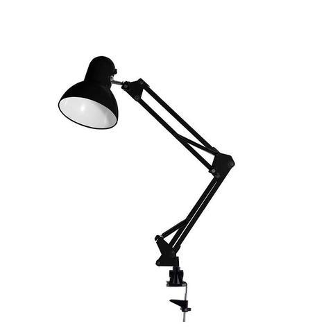 Imagem de Luminária De Mesa Articulada Articulável Pixar Garra Preto