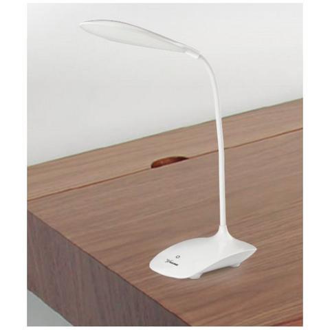 Imagem de Luminaria de mesa touch com 21 leds flexivel para estudos e bancada recarregavel