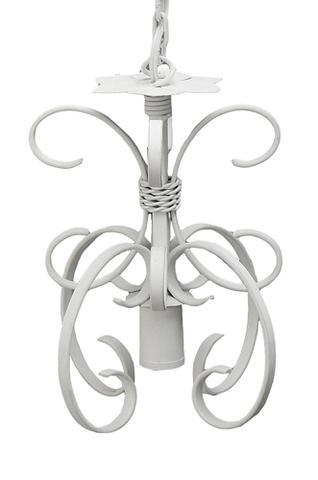 Imagem de Luminaria de Teto para Quarto de Casal Rústico Artesanal de Ferro