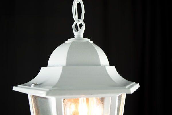 Imagem de Luminaria de Teto Pendente Colonial Branco Eurolume 5303 Bivolt E27