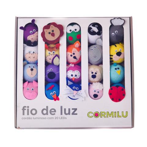 Imagem de Luminária infantil CORMILU bichinhos mixtos 20 À Pilha