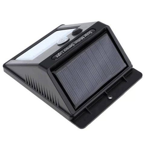 Imagem de Luminaria Lampada Solar Sensor Parede 20 Leds 12 horas Energia Noite