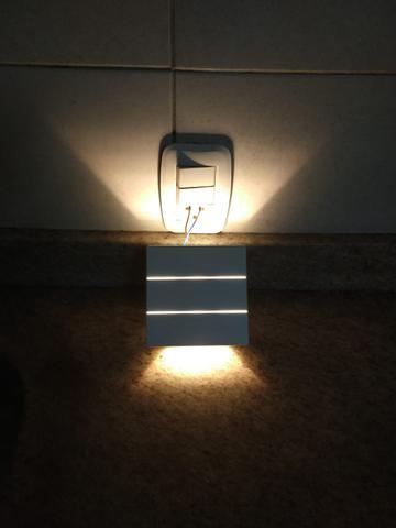 Imagem de Luminária LED Kian Arandela IP 65 Sobrepor 6w 3000k Direcional