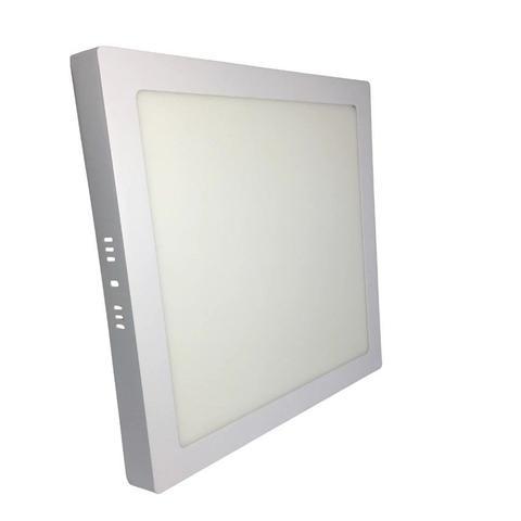 Imagem de Luminária Led Painel Plafon Sobrepor 25W Quadrado 30x30cm Branco Quente