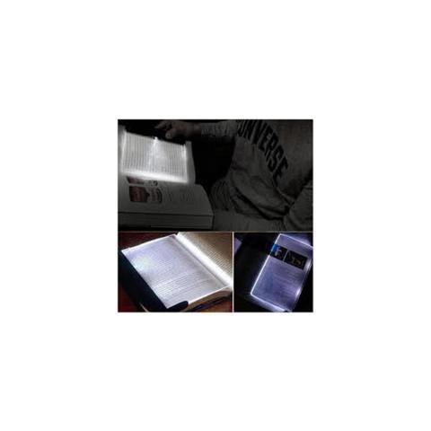 Imagem de Luminaria led para leitura luz de led noturna light panel de mao portatil para livros e textos