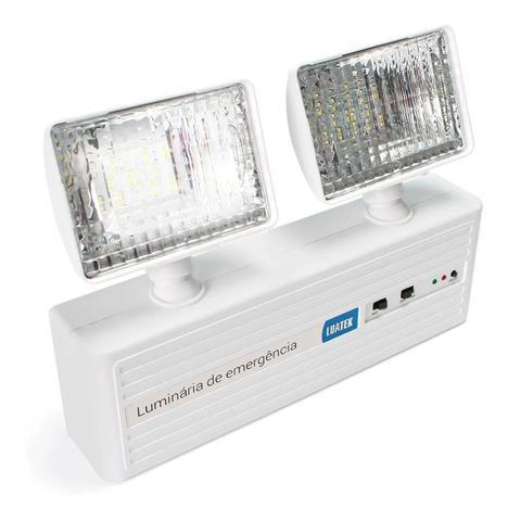Imagem de Luminária  Luz Lanterna de Emergência LED 1000 Lumens Bivolt