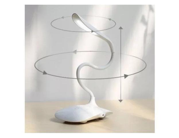 Imagem de Luminaria Mesa Flexivel Touch Sem Fio 3 Níveis Luz 14 Led
