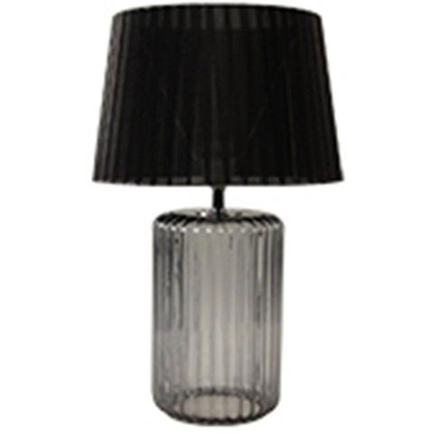 Imagem de Luminaria mesa vidro/metal big bottle base preta