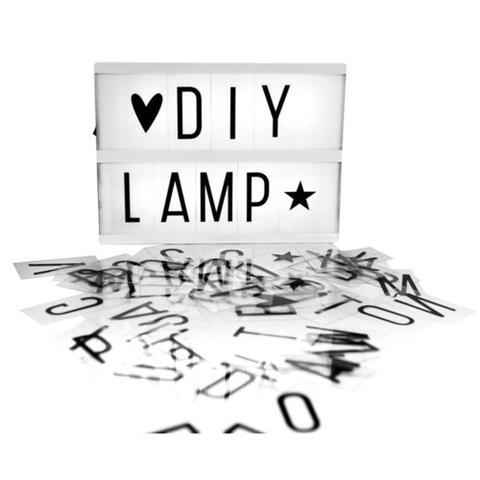 Imagem de Luminária Palavras Letras Light Box Cinema Letreiro Led